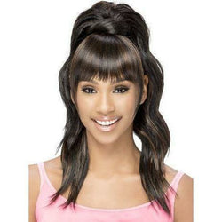 Vivica Fox Hair Collection Drawstring Ponytails Vivica's Bang n' Pony BP: YUNA