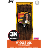 Zury Crochet Hair #1 Zury: Wiggle Loc Braid 18""