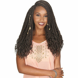 Zury Crochet Hair Zury Queendom Jungle Loc 18""