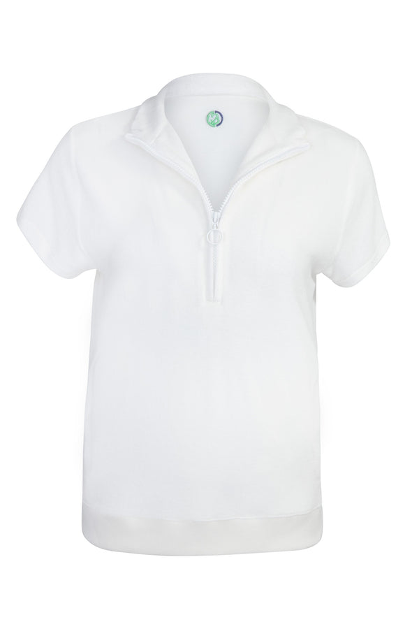 The Club Pullie All White
