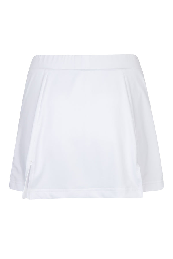 "The Course Skort 17"" All White"