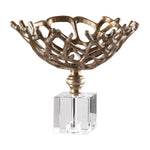 Uttermost Tiana Metallic Gold Bowl