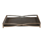 Uttermost Hima Dark Walnut Tray
