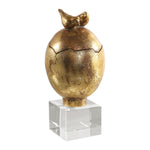 Uttermost Hatched Gold Egg Box