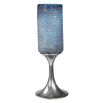 Uttermost Gallah Blown Glass Candleholder