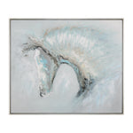 Uttermost Ice Illusion Horse Art