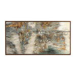 Uttermost Behind The Falls Abstract Art