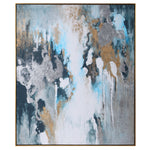 Uttermost Stormy Seas Hand Painted Canvas