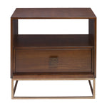 Uttermost Bexley Walnut Side Table