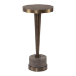 Uttermost Masika Bronze Accent Table