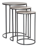 Uttermost Erik Metal Nesting Tables, S/3