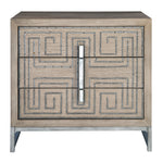 Uttermost Devya Gray Oak Accent Chest