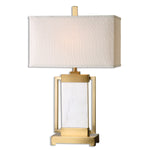 Uttermost Marnett White Marble Table Lamp