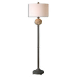 Uttermost Higgins Rope Sphere Floor Lamp