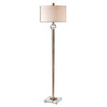 Uttermost Mesita Brass Floor Lamp