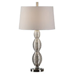 Uttermost Galatsi Ribbed Mercury Glass Lamp