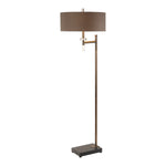 Uttermost Oletha Dark Bronze Floor Lamp