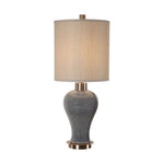 Uttermost Cailida Blue Gray Lamp