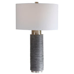 Uttermost Strathmore Stone Gray Table Lamp