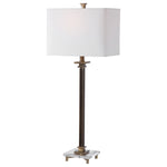 Uttermost Phillips Brass Table Lamp