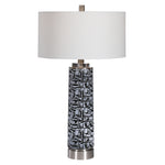Uttermost Kramer Gray Black Table Lamp