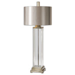 Uttermost Drustan Clear Glass Table Lamp