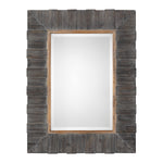 Uttermost Mancos Rustic Wood Mirror