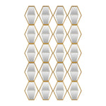 Uttermost Jillian Mirrored Wall Art