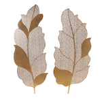 Uttermost Autumn Lace Leaf Wall Art, S/2