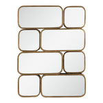 Uttermost Canute Modern Gold Mirror