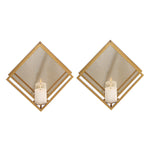 Uttermost Zulia Gold Candle Sconces, S/2