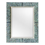 Uttermost Makaria Coastal Blue Mirror