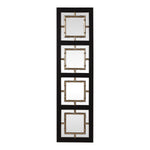 Uttermost Tadon Black Rectangle Mirror