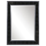 Uttermost Lonara Black Tile Mirror