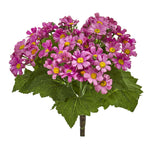Nearly Natural Daisy Bush Artificial Flower (Set of 6)