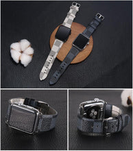 Load image into Gallery viewer, LV Checkered Apple Watch Bands