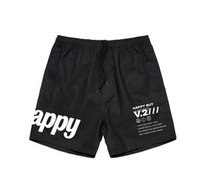 Happy Hungry Shorts - Black