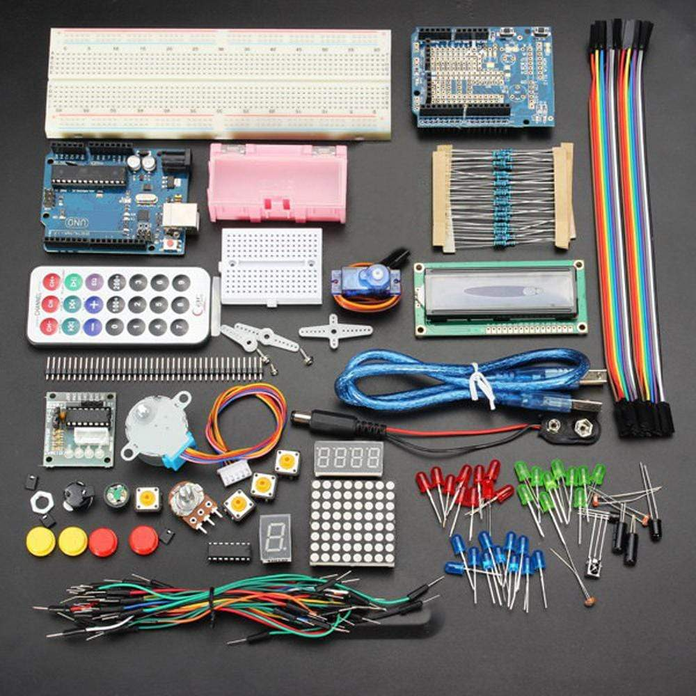 Basic Starter Learning Kit for Arduino UNOR3 No battery