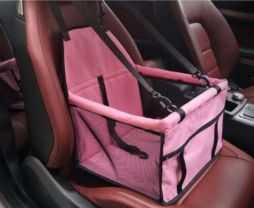 Pet Dog Car Carrier Seat Bag Waterproof Basket Folding Hammock Pet Carriers Bag For Small Cat Dogs Safety Travelling Mesh 4 / 40x30x25 cm DISCOUNT