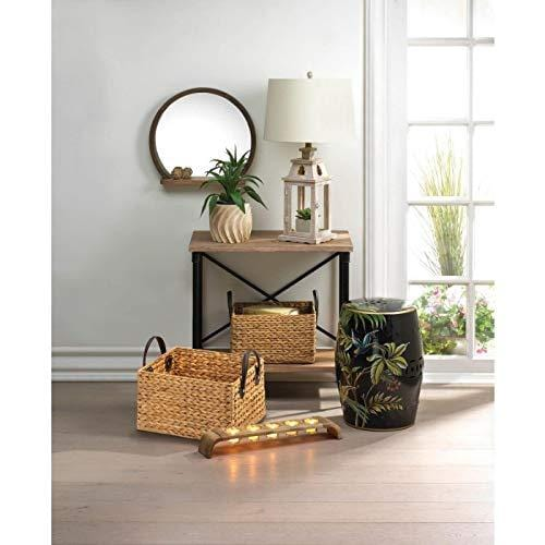 Unique Wicker Storage Baskets Duo Decorative Retro Display Storage Basket for Laundry, Picnic, Plant, Toys Organizer Home & Kitchen DISCOUNT