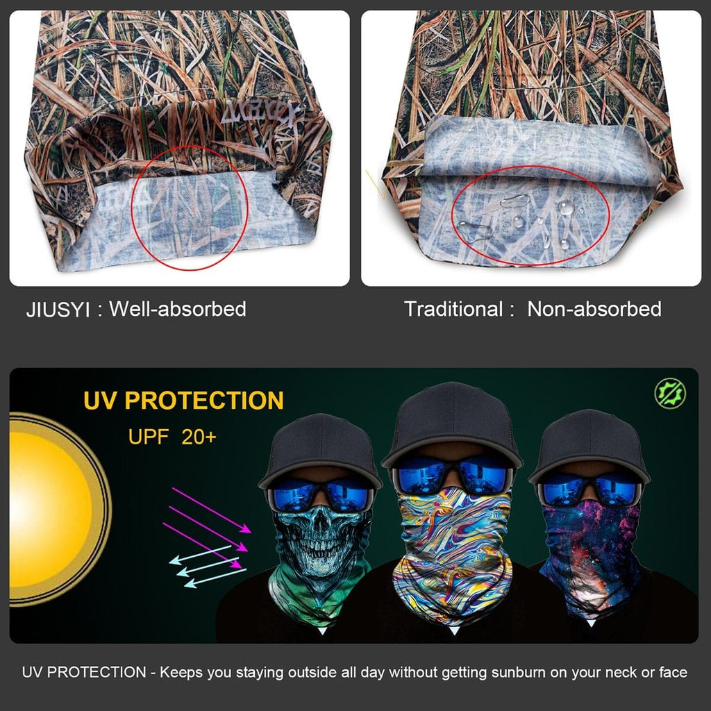 Custom Face Covering Balaclava Magic Scarf Neck Face Cover DISCOUNT