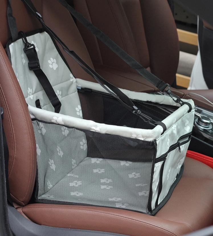 Pet Dog Car Carrier Seat Bag Waterproof Basket Folding Hammock Pet Carriers Bag For Small Cat Dogs Safety Travelling Mesh 9 / 40x30x25 cm DISCOUNT