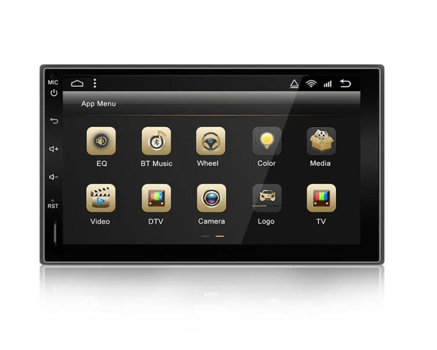 Android 9.0 double-DIN 7 Inch Car Stereo Navigation Bluetooth Touch Screen Multimedia Radio
