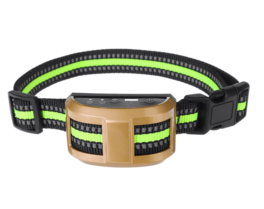 Best Bark Collar - Anti Barking Device - Training Collar Gold DISCOUNT