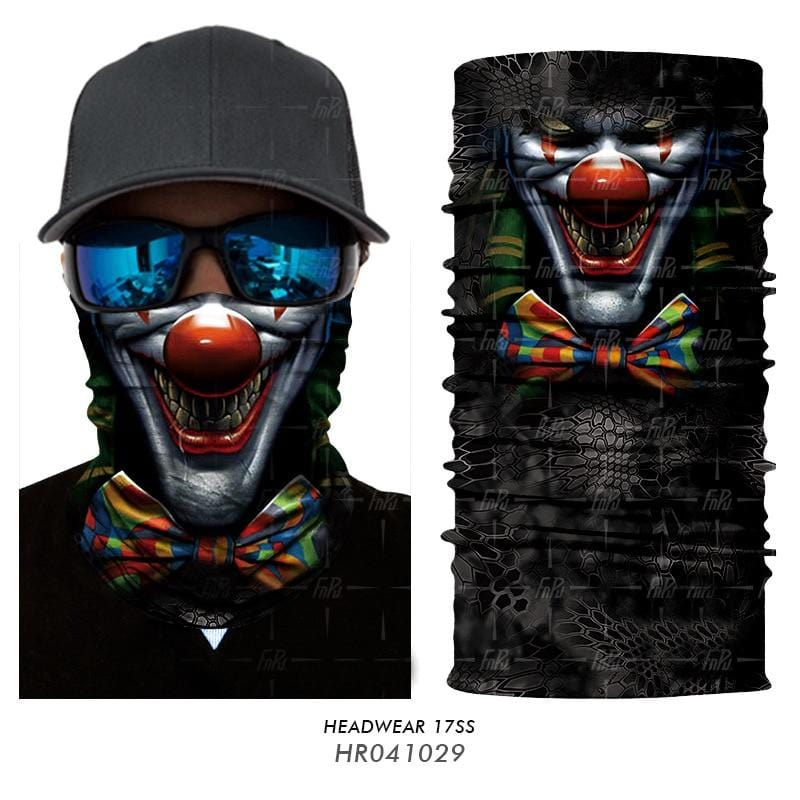 Custom Face Covers Balaclava Magic Scarf Neck Face Cover HR041029 / One Size DISCOUNT