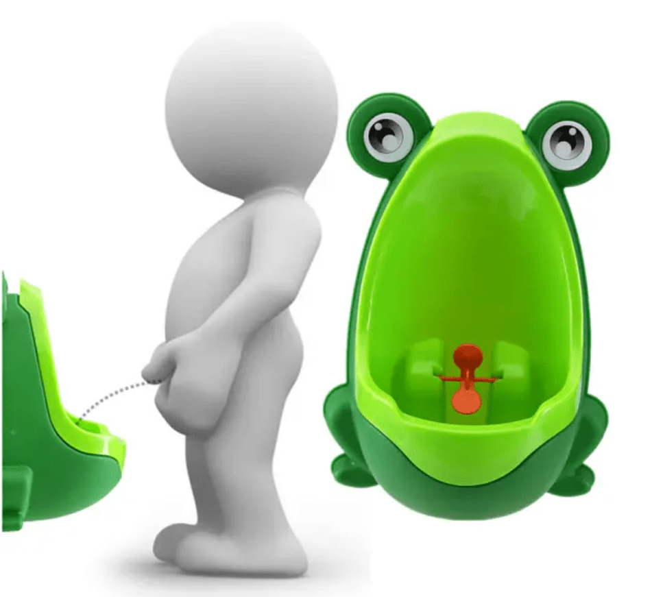 Cute Frog Potty Toilet Trainer for Boys
