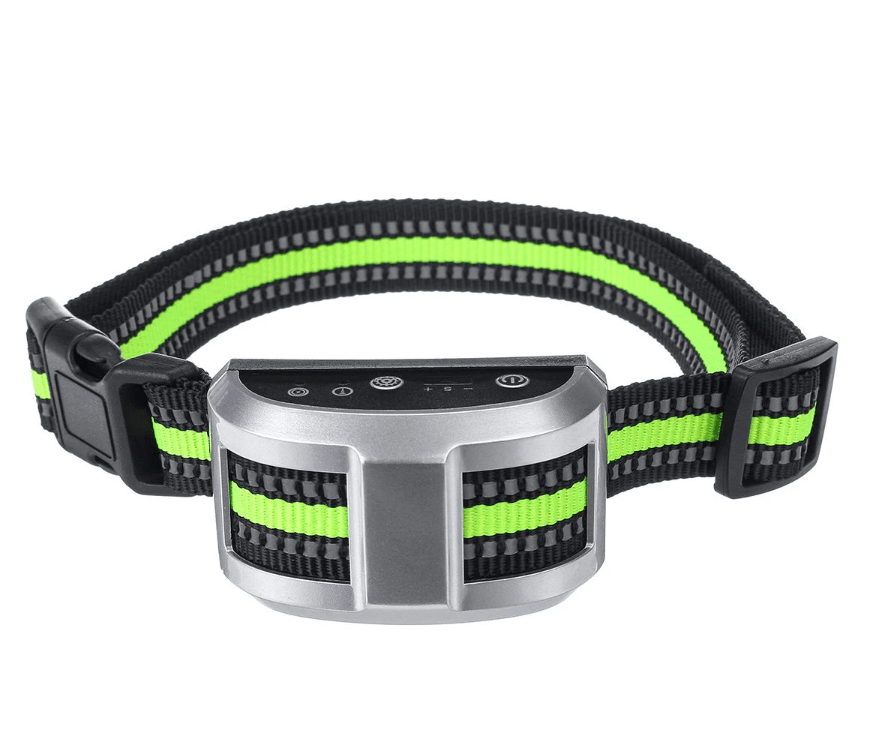Best Bark Collar - Anti Barking Device - Training Collar Silver DISCOUNT