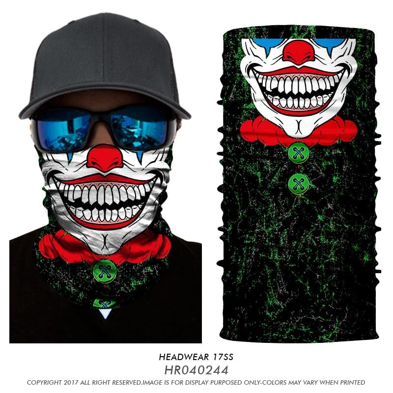 Custom Face Covering Balaclava Magic Scarf Neck Face Cover HR040244 / One Size DISCOUNT