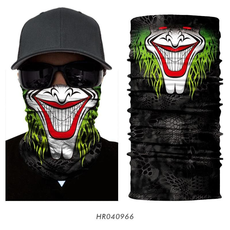 Custom Face Covers Balaclava Magic Scarf Neck Face Cover HR040966 / One Size DISCOUNT