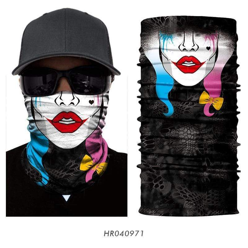 Custom Face Covering Balaclava Magic Scarf Neck Face Cover Mens Clothing DISCOUNT